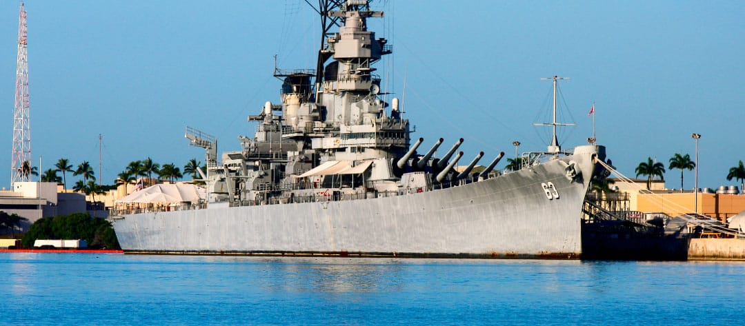 Missouri - Pearl Harbor Battleship